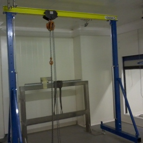 portique d'atelier 1 000 kg