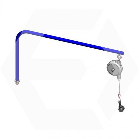 Ensemble potence rotative + équilibreur pour flexible