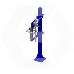 ERIFUT 1 XNP LT MANU+ tube plongeur D40-C420 vanne BS manuelle
