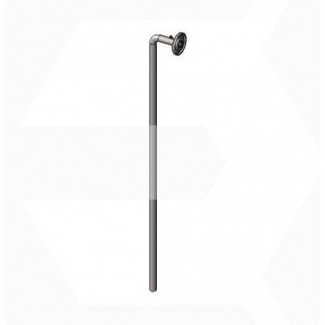 tube plongeur dépotage d40-C1200-inox