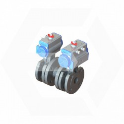 Kit 2 debits valves